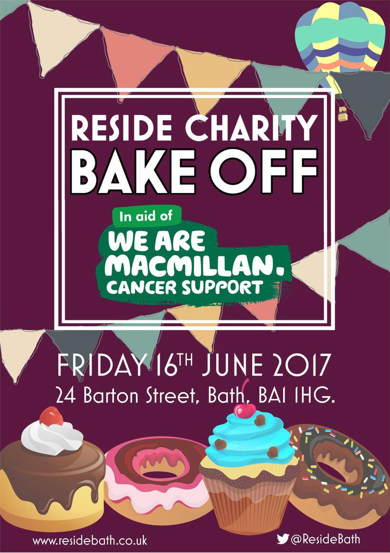 Reside Charity Bake Off